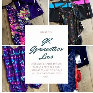 New GK gymnastics Leos JUST listed!